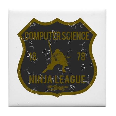 Computer Science Ninja League Tile Coaster