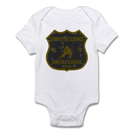 Computer Science Ninja League Infant Bodysuit