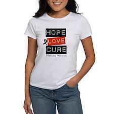 Melanoma HopeLoveCure Tee