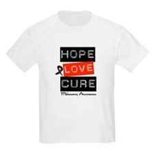 Melanoma HopeLoveCure T-Shirt