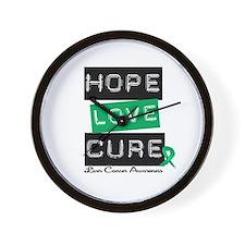LiverCancerHope Wall Clock