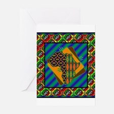 Funny Africa Greeting Cards (Pk of 20)