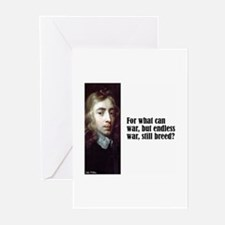 "Milton ""What Can War"" Greeting Cards (Pk of 10)"