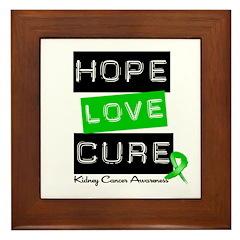 KidneyCancerHope Framed Tile