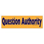 Question Authority Bumper Sticker (10 pk)