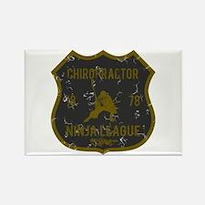 Chiropractor Ninja League Rectangle Magnet