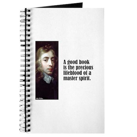 "Milton ""Good Book"" Journal"