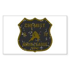 Chemist Ninja League Rectangle Decal