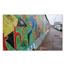 Berlin Wall Rectangle Decal