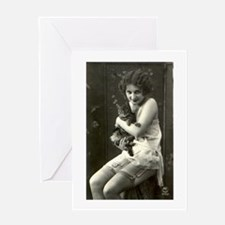 Vintage Nude Valentine's Day Greeting Card
