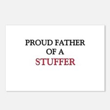 Proud Father Of A STUFFER Postcards (Package of 8)