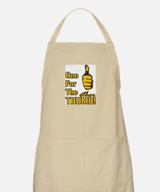 One for the OTHER Thumb BBQ Apron
