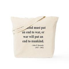 John F. Kennedy 2 Tote Bag