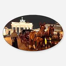 Berlin Oval Decal