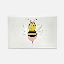 MayBee Bumble Bee Rectangle Magnet