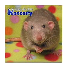 Dumbo Rat Tile Coaster