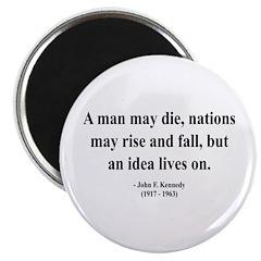 """John F. Kennedy 3 2.25"""" Magnet (10 pack)"""