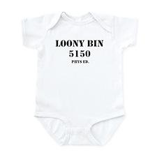 LOONY BIN PHYS. ED. Infant Bodysuit