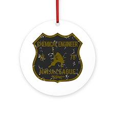 Chemical Engineer Ninja League Ornament (Round)