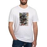 Japanese Samurai Warrior Narishige Fitted T-Shirt