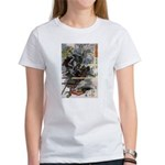 Japanese Samurai Warrior Narishige Women's T-Shirt