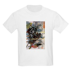 Japanese Samurai Warrior Narishige (Front) T-Shirt