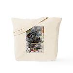 Japanese Samurai Warrior Narishige Tote Bag