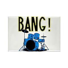 Bang! Rectangle Magnet