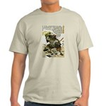 Japanese Samurai Warrior Naotsugu (Front) Light T-