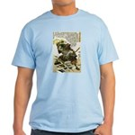 Japanese Samurai Warrior Naotsugu Light T-Shirt