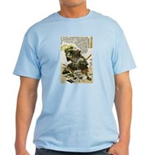 Japanese Samurai Warrior Naotsugu T-Shirt