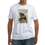 Japanese Samurai Warrior Naotsugu Fitted T-Shirt