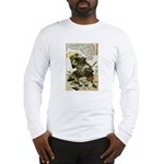 Japanese Samurai Warrior Naotsugu Long Sleeve T-Sh