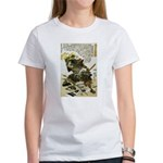 Japanese Samurai Warrior Naotsugu Women's T-Shirt