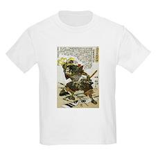 Japanese Samurai Warrior Naotsugu (Front) T-Shirt