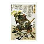 Japanese Samurai Warrior Naotsugu Postcards (Packa