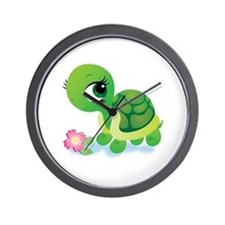 Toshi the Turtle Wall Clock