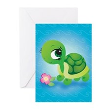 Toshi the Turtle Greeting Cards (Pk of 10)