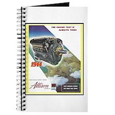 """""""WWII Allison Engines"""" Journal"""