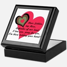 DEAR SOLDIER GIFTS Keepsake Box