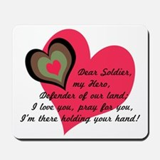 DEAR SOLDIER GIFTS Mousepad