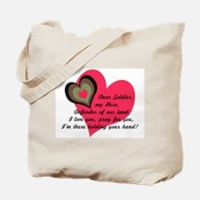 DEAR SOLDIER GIFTS Tote Bag