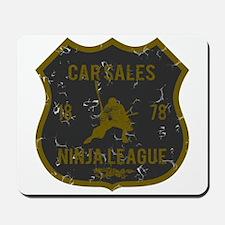 Car Sales Ninja League Mousepad