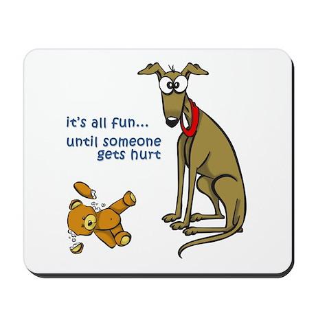 Fun until... Mousepad