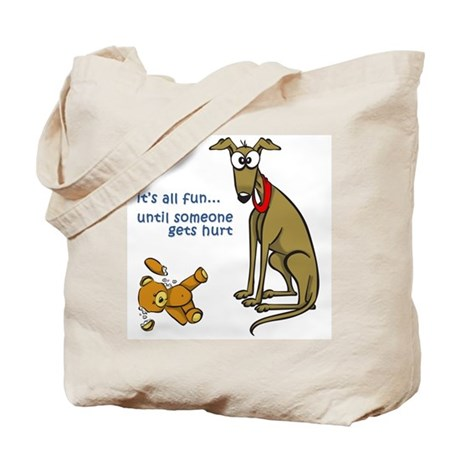 Fun until... Tote Bag