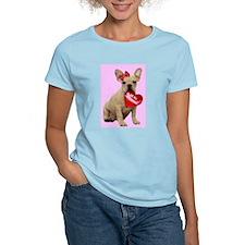Be my Valentine French Bulldo T-Shirt