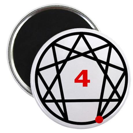 """Enneagram Type 4 2.25"""" Magnet (10 pack)"""