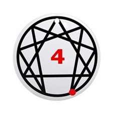 Enneagram Type 4 Ornament (Round)
