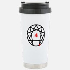 Enneagram Type 4 Stainless Steel Travel Mug