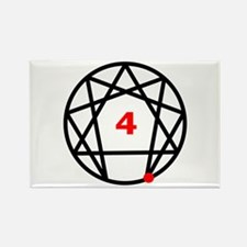 Enneagram Type 4 Rectangle Magnet